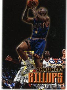 RARE 99 00 SKYBOX NBA HOOPS CHAUNCEY BILLUPS DENVER NUGGETS MINT Denver  Nuggets 444f89730