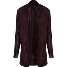 http://www.riverisland.com/men/sale/jumpers–cardigans/Dark-red-mesh-knit-open-front-cardigan-281081