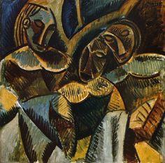 Pablo Picasso 1881-1973  Trois femmes sous un arbre  Year 1907