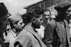 Spanish Republican combatants, Barcares Concentration Camp, Barcares, France 1939 FOTO DE IONE ROBINSON