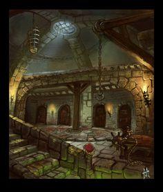 Dismal Dungeon by j0sh-3000.deviantart.com on @DeviantArt