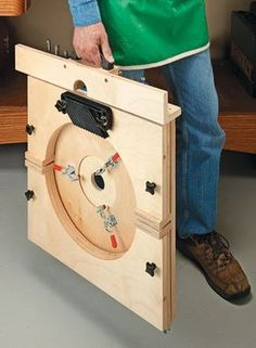 A briefcase-sized package transforms into a full-featured benchtop tool in minutes.