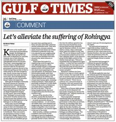 Let's alleviate the suffering of Rohingya http://www.harunyahya.com/en/Articles/246894/Lets-alleviate-the-suffering-of-Rohingya …