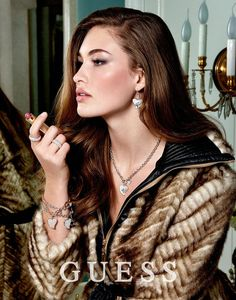 The Essentialist - Fashion Advertising Updated Daily: Guess Accessories Ad Campaign Fall/Winter Grace Elizabeth, Guess Girl, Top Luxury Brands, Fashion Advertising, Advertising Campaign, Fashion Cover, Fall Accessories, Gorgeous Makeup, Female Portrait