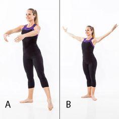 Kickboxing Training and Ballet Dance Workout: Side Kick Knee Strike - Combo Workout Plan: Kickboxing Training and Ballet Dance - Shape Magazine