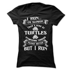 Awesome Tee I run T-Shirts