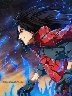 Madara Uchiha by 230795 Naruto Shippuden Sasuke, Itachi Uchiha, Anime Naruto, Madara Susanoo, Anime Akatsuki, Wallpaper Naruto Shippuden, Naruto Wallpaper, Naruto Art, Manga Anime