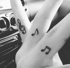 Tattoos  Fingers  Music