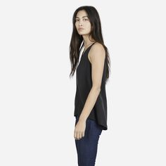 Everlane | The Silk Tank