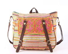 Tribal Messenger Diaper Bag Backpack  by TaTonYon