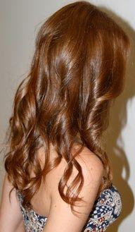 Love this glossy soft medium auburn hair color-chestnut/caramel/cinnamon/honey h