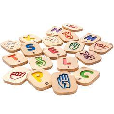Alphabet en langue des signes - Découvrez un autre alphabet - 32,95 €