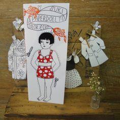 Suki Paper Doll
