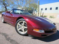 2003 50th Anniversary Corvette Convertible