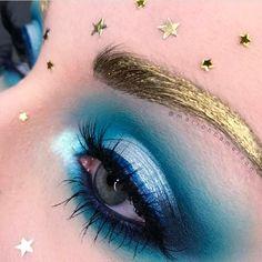 Top Blue Fairy Makeup: 70 Halloween Makeup Ideas https://femaline.com/2017/10/20/blue-fairy-makeup-70-halloween-makeup-ideas/