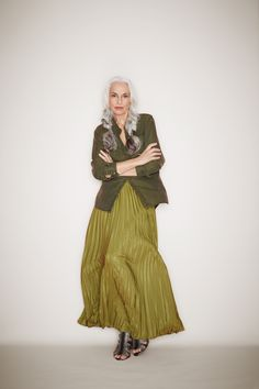 'Seeing older models with modern hair and make–up, looking cool, is amazing,' Caroline Baker enthused at 50+ Fashion Week. Caroline was fashion editor on the groundbreaking 1960s magazine Nova where she pioneered many looks we take for granted today. This image of model Yasmina Rossi reminds me of her use of army surplus long beforeRead more