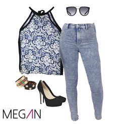 #azul #blue #chinoiserie #tallealto #jean #chicas #girl #fashion #fashionmegan24 #barranquilla #colombia