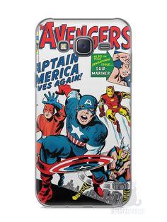 Capa Capinha Samsung J5 The Avengers - SmartCases - Acessórios para celulares e tablets :)