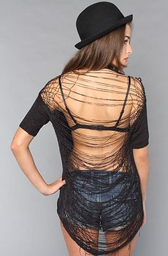The Destroyed Knit Top