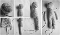 free crochet doll pattern how to crochet a basic doll