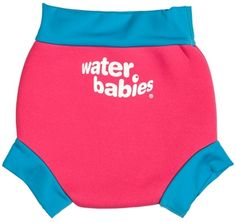 Water Babies neoprene nappy comes in different colours! #WaterBabies #babyswimming