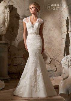 Mori Lee by Madeline Gardner 2706 Wedding Dress photo