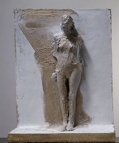 MANUEL NERI MAHA - BRONZE RELEIF V 1/4 bronze with oil-based pigments 43 x 34 1/4 x 10 3/4 inches
