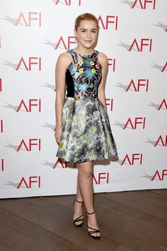 Kiernan Shipka in Peter Pilotto - Arrivals at the 15th Annual AFI Awards