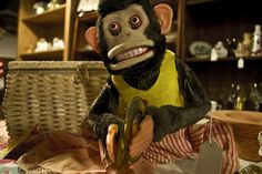Scary Monkey Playing Cymbals - Stephen King is not the only person who was freaked out by one of these as a kid!
