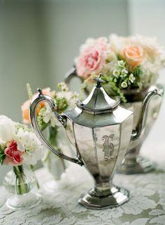 ♥ centerpieces #Wedding