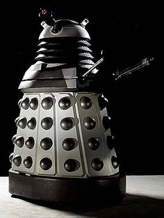 Dalek, because plungers are scary