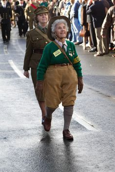 Land Army veteran by Tony Smithers, via Flickr.  Whenever I look at this…