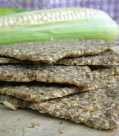 Easy Corn-Oat Flatbread