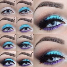 7 Amazing Makeup Tutorials for Blue Eyes | trends4everyone