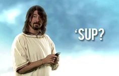 Dave Grohl...sup? Oh nothing much, I think I'll repost a favorite GIF you've got.Cant help myself makes me smile.