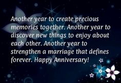 First Wedding Anniversary Wishes for Husband Another year to create precious mem… - Hochzeitstag First Wedding Anniversary Quotes, Anniversary Quotes For Friends, Wedding Quotes To A Friend, Happy Wedding Anniversary Wishes, Anniversary Cards, Anniversary Ideas, Anniversary Greetings, Wedding Wishes, Anniversary Message