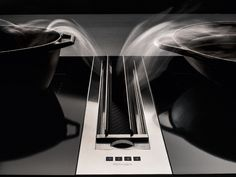 Stainless steel downdraft PIANO by Falmec