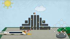 This video is a Motion Graphics animation made in Adobe After Effects for a Aid event taking place in Brussels.