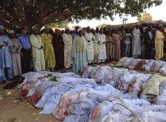 NIGERIA: Deadliest massacre ever by Islamic group Boko Haram kills at least Military Dictatorship, Boko Haram, Modern History, Allegedly, Islam, Africa, Revenge, Warriors, Bodies