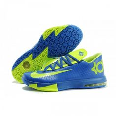 lowest price 41020 dda49 Buy Nike Kevin Durant KD 6 VI Royal Blue Neon Green For Sale Lastest from  Reliable Nike Kevin Durant KD 6 VI Royal Blue Neon Green For Sale Lastest  ...
