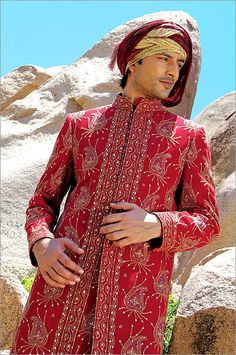 New and Latest collection of Sherwani for men