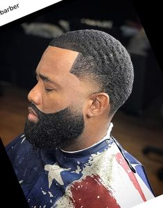 36 Amazing Haircut Ideas for Black Men – coiffures et barbe hommes Black Man Haircut Fade, Black Hair Cuts, Black Men Haircuts, Black Men Hairstyles, Fresh Haircuts, Men's Haircuts, Bun Hairstyles, Beard Styles For Men, Hair And Beard Styles
