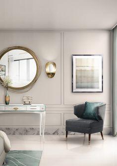 Bedroom Decor | Interior Design. Home Decor. #bedroomdesign #interiordesign #homedecor. Find more inspiration: https://www.brabbu.com/moodboards/