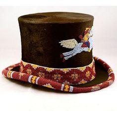 Antique Beaver Fur Top Hat