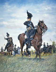 Brunswick Hussar, Quatre Bras 16th June 1815