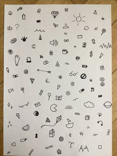 Want the eye stick and poke at side / rib Little Tattoos, Cute Tattoos, Body Art Tattoos, Hand Tattoos, Small Tattoos, Cool First Tattoos, Tatoos, Doodles Sharpie, Hand Doodles