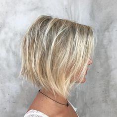 Haircuts For Long Hair With Layers, Bob Haircut For Fine Hair, Bobs For Thin Hair, Bob Hairstyles For Fine Hair, Haircuts For Fine Hair, Cool Haircuts, Hairstyles Haircuts, Short Hair Cuts, Cool Hairstyles