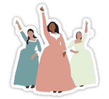 Schuyler Sisters Sticker