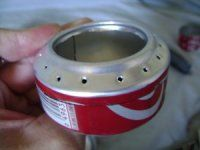How to Build a Soda Can Stove.