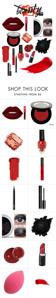 """Anastasia - Beauty Contest"" by kentigerna on Polyvore featuring bellezza, Lime Crime, Shany, Topshop, NARS Cosmetics, Chanel e Anastasia Beverly Hills"